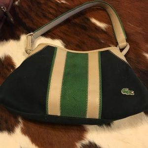 Lacoste Canvas Handbag